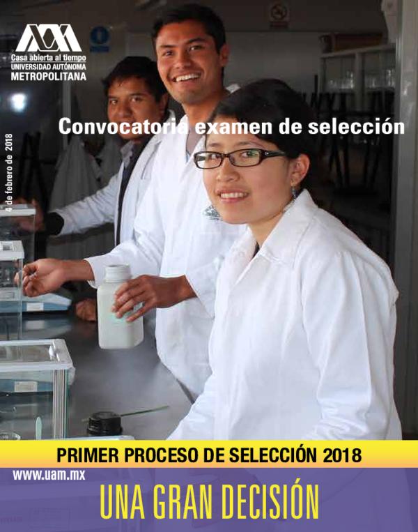 Pdf Primer Proceso De Selección 2018 Misael Rebollo