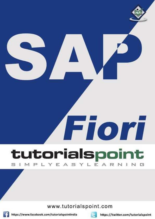 PDF) SAP Fiori | Panyawatchara Suthummabutr - Academia edu