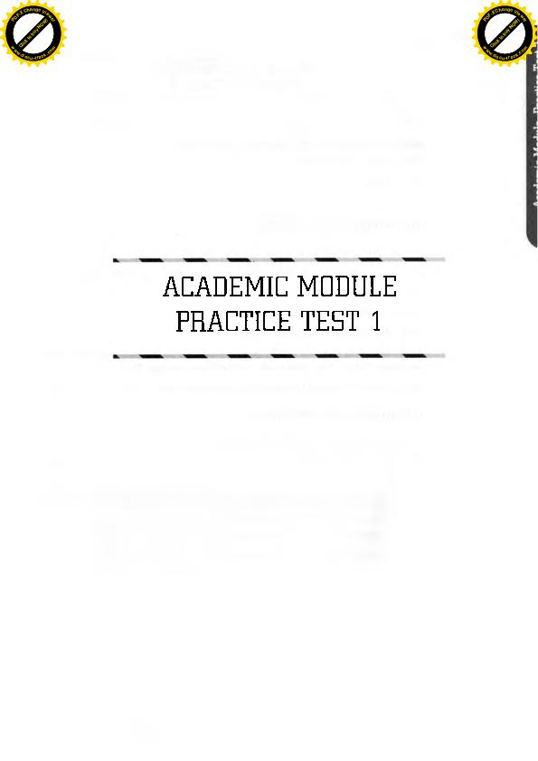 PDF) ACADEMIC MODULE PRACTICE TEST 1 | Minh Bui Tuan - Academia edu