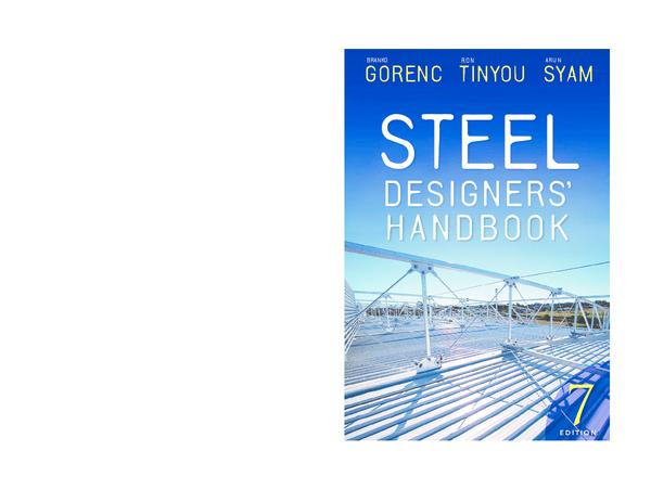 PDF) STEEL DESIGNERS ' GORENC TINYOU SYAM | yagoub ahmmed