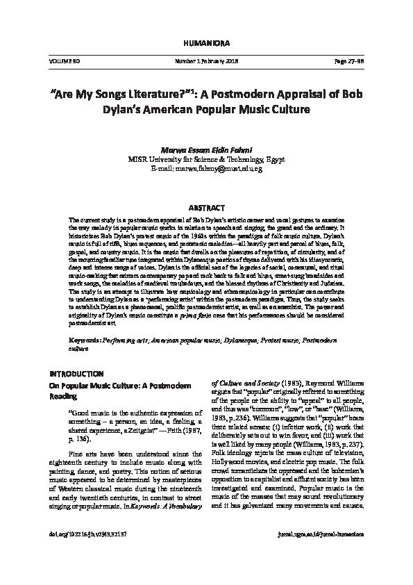 PDF) HUMANIORA
