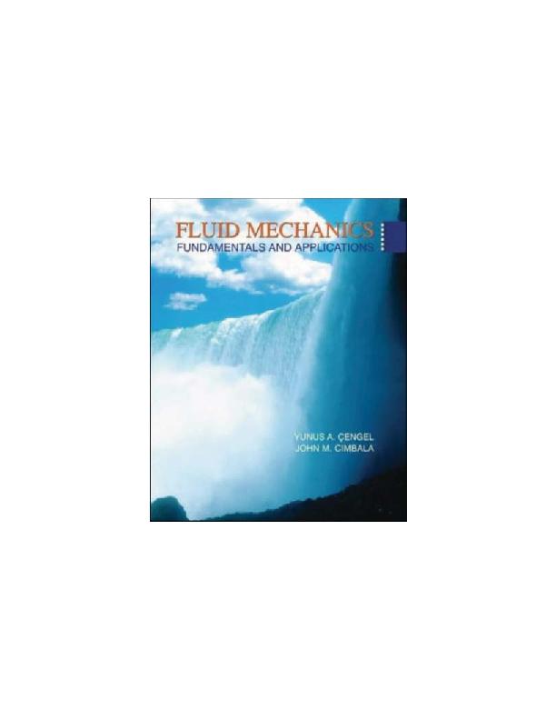 Edition fluid 3rd yunus mechanics pdf cengel