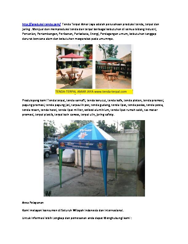 (DOC) Jual Tenda Lipat Di Medan (WA)O878-8626-4447 Tenda ...