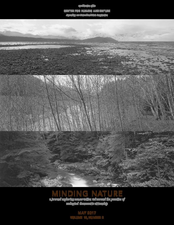 PDF) Minding_Nature_Vol 10_No 2 pdf | Anja Claus and Bruce