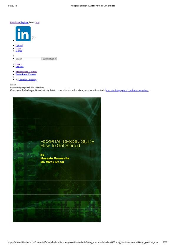 PDF) Hospital Design Guide How to Get Started3 | ajeetav