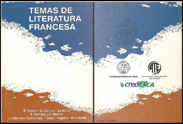 Pdf Temas De Literatura Francesa Asociación Argentina De