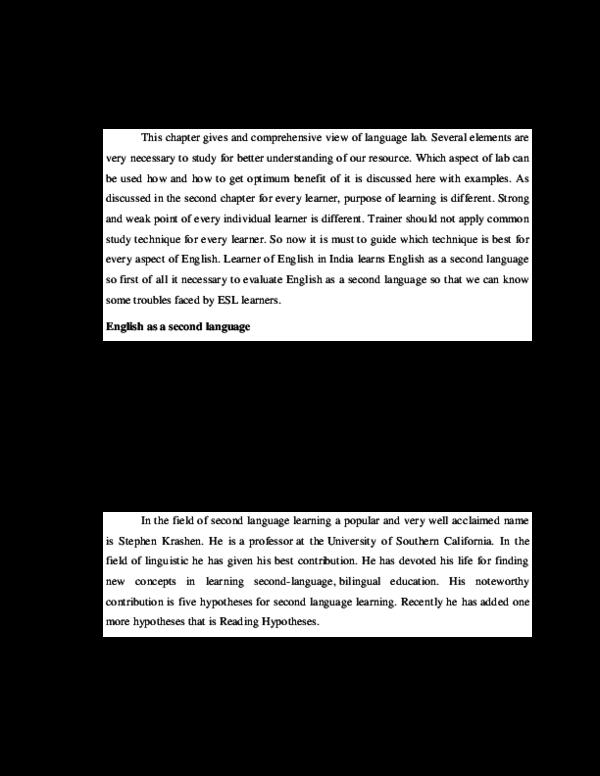 PDF) CHAPTER -4 ROLE OF LANGUAGE LAB IN TEACHING ENGLISH | Adeyemo Sunday -  Academia.edu