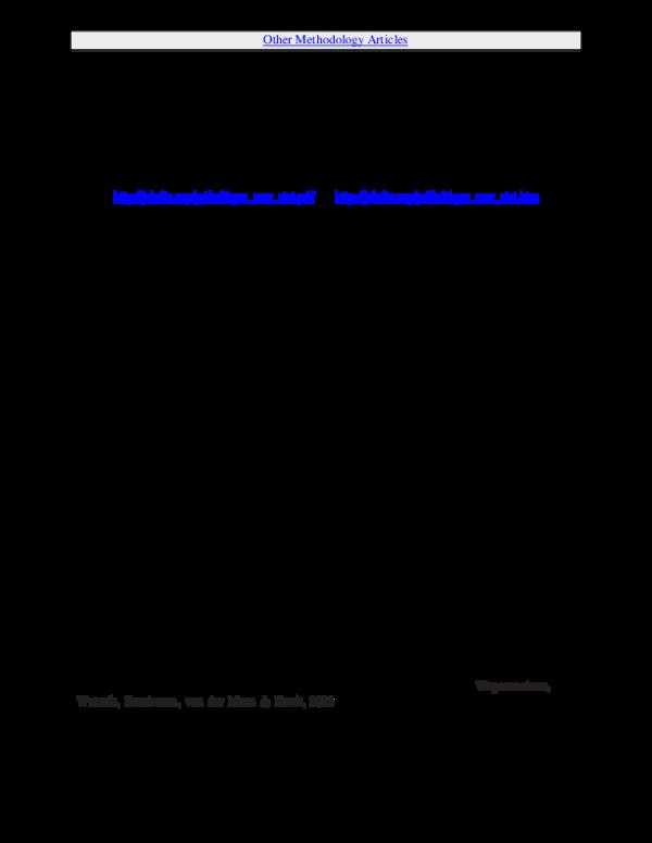 "PDF) Critique of Cumming's ""New Statistics"" for Psychological"
