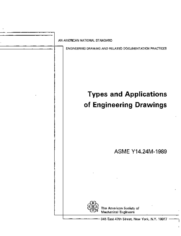 PDF) Types and Applications of Engineering Drawings | Dan
