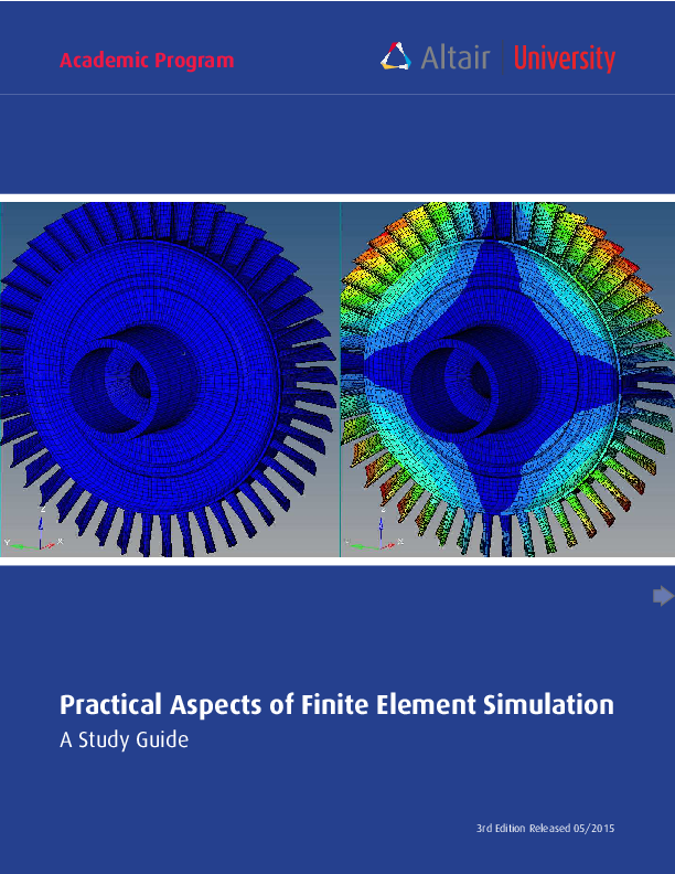 PDF) Practical Aspects of Finite Element Simulation A Study Guide