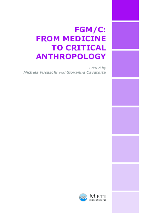 PDF) FGM/C: FROM MEDICINE TO CRITICAL ANTHROPOLOGY | Villani Michela