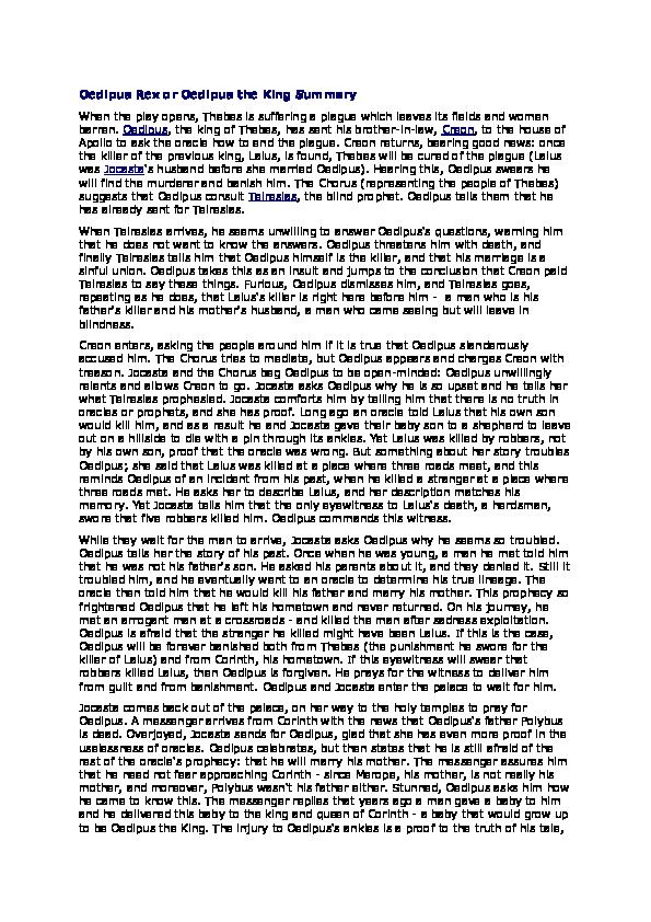 Summary oedipus the king rwth masterarbeit deckblatt