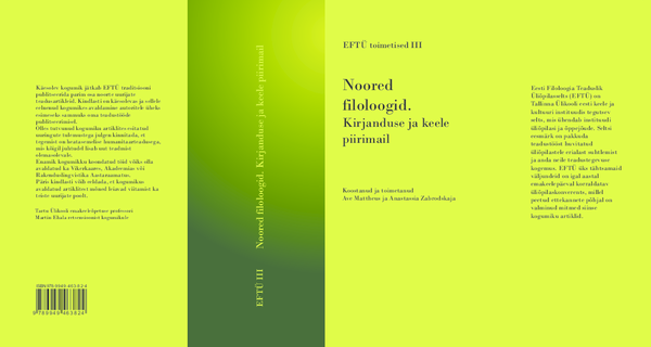 6cb88c5b25a PDF) Noored filoloogid. Kirjanduse ja keele piirimail   Ave Mattheus ...