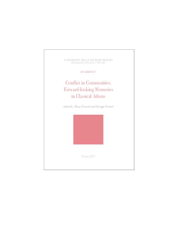 PDF) E  Franchi - G  Proietti (eds ), Conflict in Communities