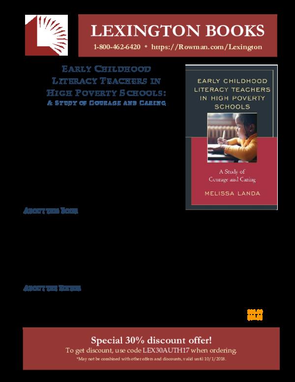 PDF) LEXINGTON BOOKS Special 30% discount offer! E | Melissa