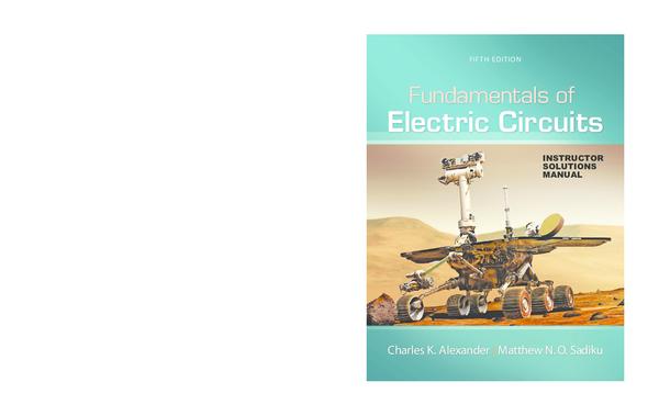 Solucionario Fundamentos Circuitos Eletricos Sadiku 5ed Diego