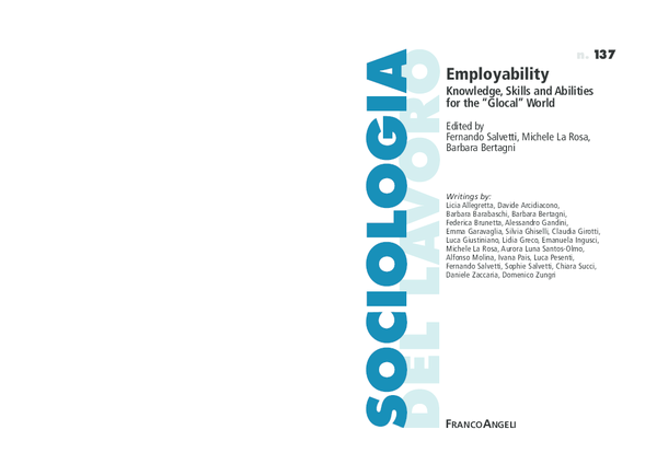 PDF SALVETTI Ed Employability Knowledge Skills and Abilities