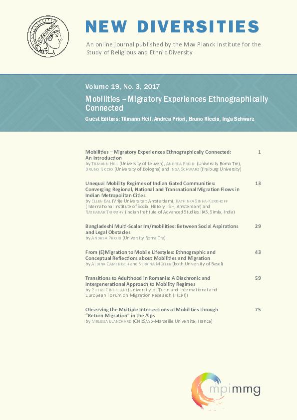 PDF) 2017_19-03_NewDiversities.pdf | Kathinka sinha kerkhoff and ...