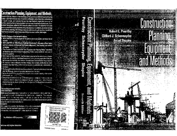 PDF) construction-planning-equipment-and-methods-by-r-l-peurifoy ...