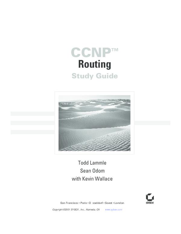 PDF) CCNP Routing Study Guide.pdf | Bao Doan - Academia.edu