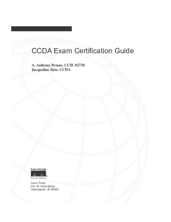 PDF) CCDA Exam Certification Guide | Bao Doan - Academia edu
