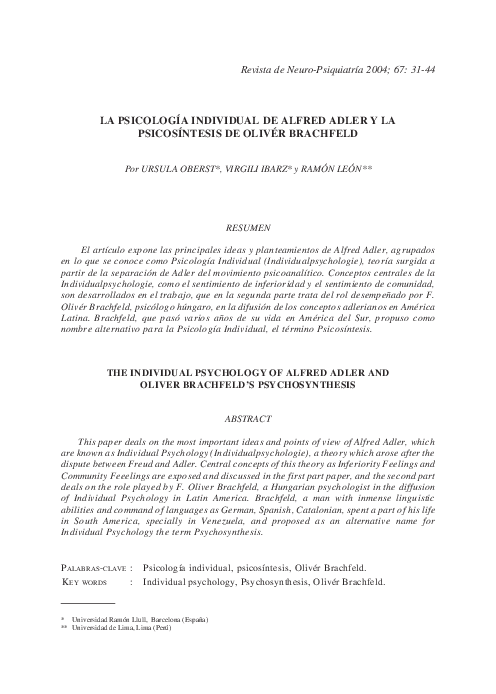 Adler pdf alfred el caracter neurotico