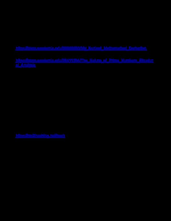 PDF) A Tale of Two Mathematicians | Thomas McClure - Academia edu