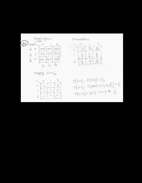 (PDF) Chapter 3: Discrete Random Variables 3.1 The Notion