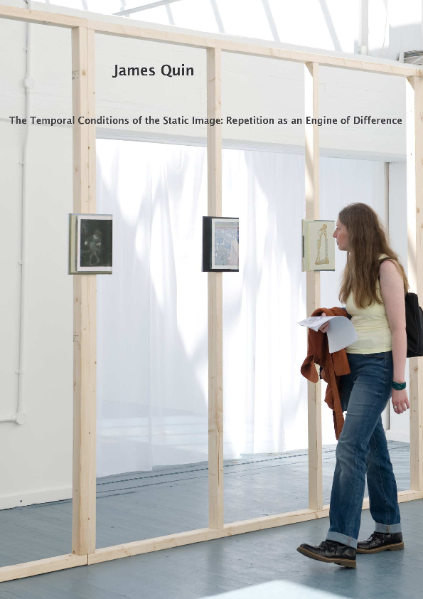 Pdf The Temporal Conditions Of The Static Imagepdf James Quin