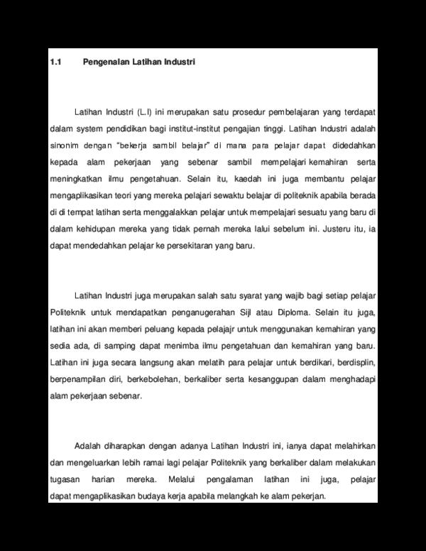 Doc Contoh Pengenalan Nur Hafizah Academia Edu