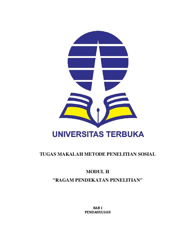 Doc Makalah Metode Penelitian Sosial Docx Asti Cucu Anbiyah Ar Razzaqh Academia Edu