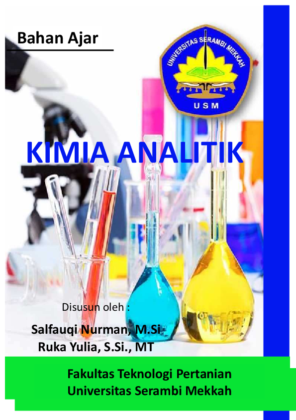 Buku Kimia Analitik Pdf