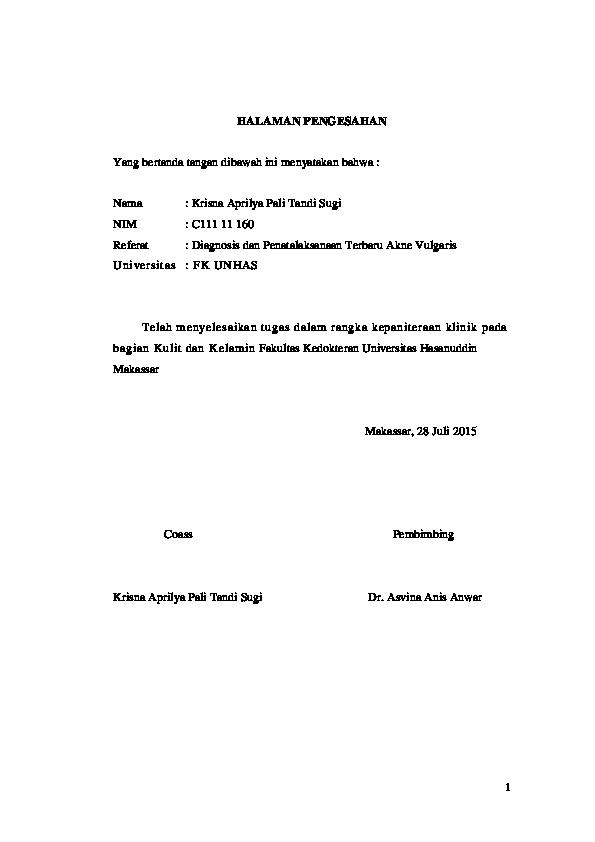 Kasus Resistensi Benzoyl Peroxide Topikal Untuk Kulit Berjerawat Pdf