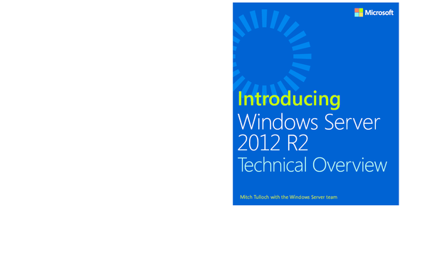 PDF) Introducing Windows Server 2012 R2 | Anil Yadav