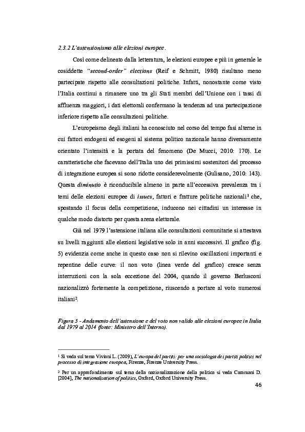 PDF) L'astensionismo alle elezioni europee in Italia