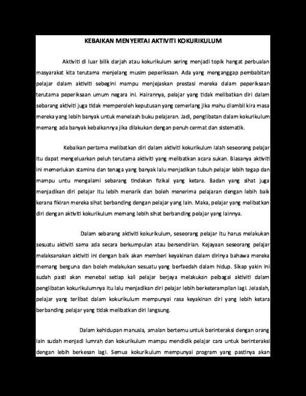 Doc Kebaikan Menyertai Aktiviti Kokurikulum Nazmah Nby Academia Edu