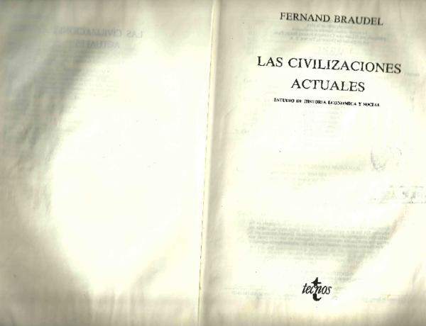 las civilizaciones actuales fernand braudel descargar pdf