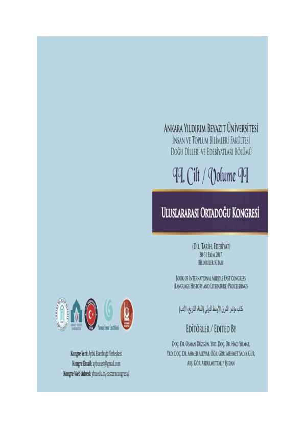 7a88dd7b80a86 PDF) Uluslararası Ortadoğu Kongresi Bildiri Kitabı II. Cilt.pdf ...