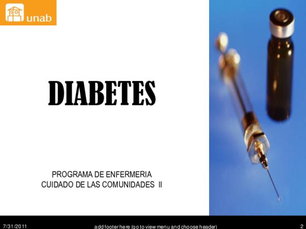 fisiopatologia de las complicaciones cronicas de la diabetes ppt