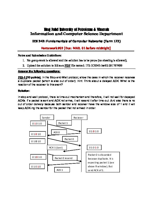 PDF) Homework   Mohammed Ayub - Academia edu