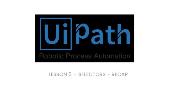 PDF) LESSON 6 – SELECTORS -RECAP   Olly Shulyak - Academia edu