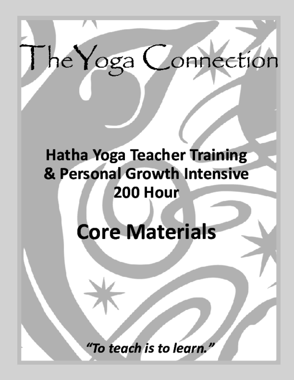 Pdf Hatha Yoga Teacher Training Personal Growth Intensive 200 Hour Zsuzsa Nagy Academia Edu