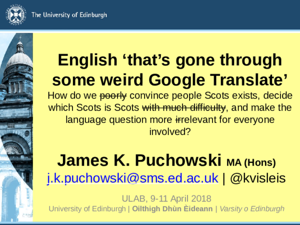 University Of Edinburgh Philosophy Psychology And Language Studies Ppls Academia Edu