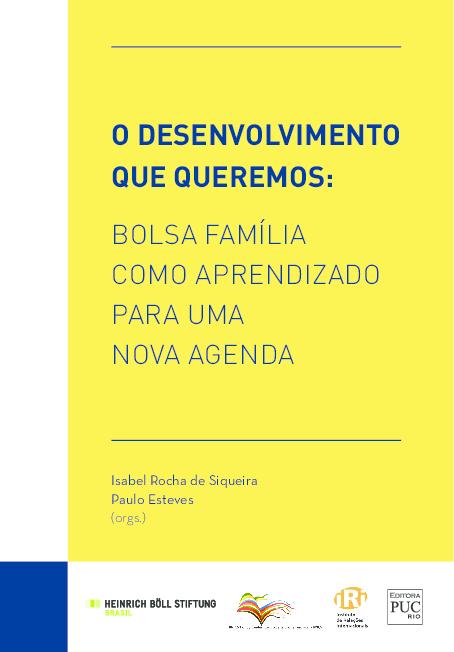 cad3b98d8 PDF) O DESENVOLVIMENTO QUE QUEREMOS: BOLSA FAMÍLIA COMO APRENDIZADO ...
