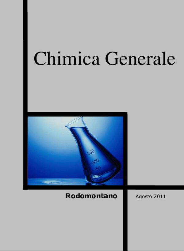 Chimica Generale Pdf