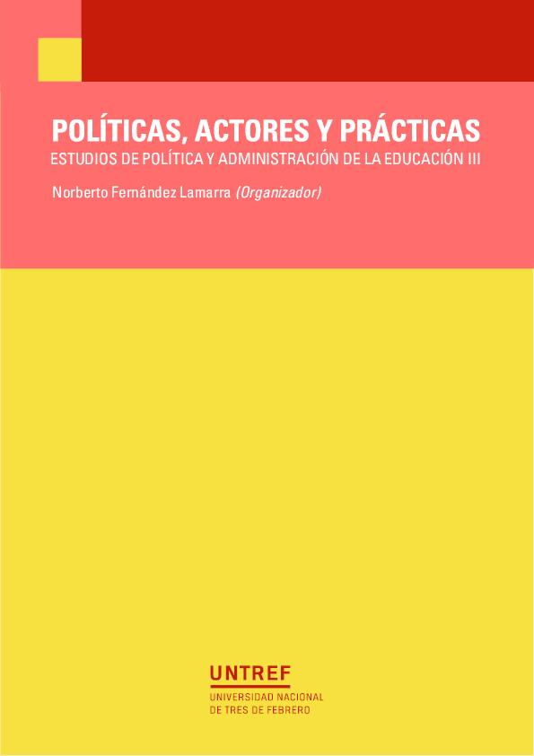 2348bc3b1 PDF) ESTUDIOS DE POLÍTICA Y ADMINISTRACIÓN DE LA EDUCACIÓN III ...