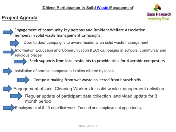 PDF) 'Citizen Participation in Solid Waste Management' | Nkv