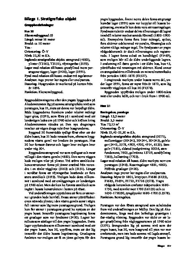 metoden att datera fossiler genom sin position i Bergs lager kallas