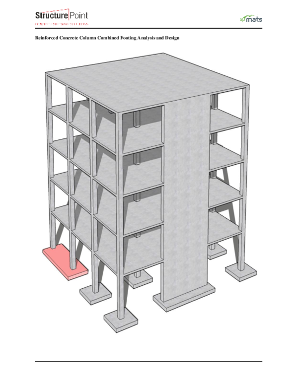 PDF) Reinforced-Concrete-Column-Combined-Footing-Analysis