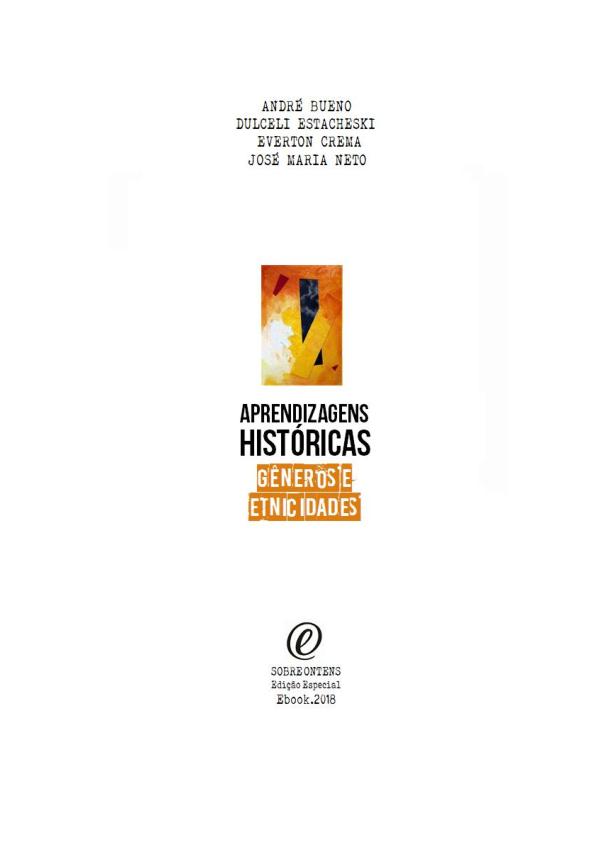 ec351250f4 PDF) Aprendizagens Históricas  Gêneros e Etnicidades